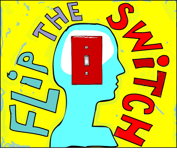 Illustration by Franke James of a Switch Brain