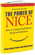 Book cover Power of Nice