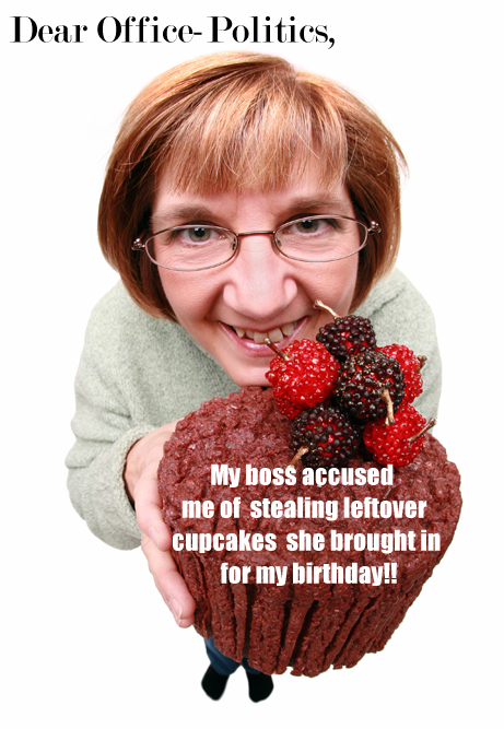 Text by Franke James, MFA.; Woman holding cupcake ©istockphoto.com/Sharon Dominick