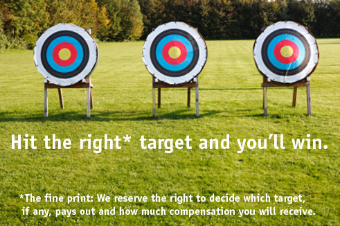 headline illustration by Franke James, MFA. Targets in field ©istockphoto.com/Manfred Steinbach